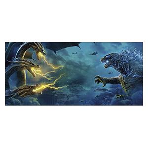 Godzilla. Размер: 130 х 60 см